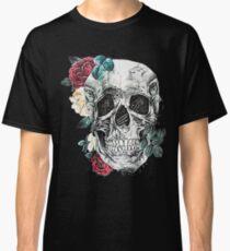 Skull Flowers Classic T-Shirt
