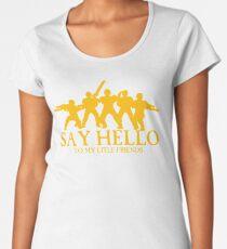 Say Hello To My Little Friends Guard - Golden Women's Premium T-Shirt