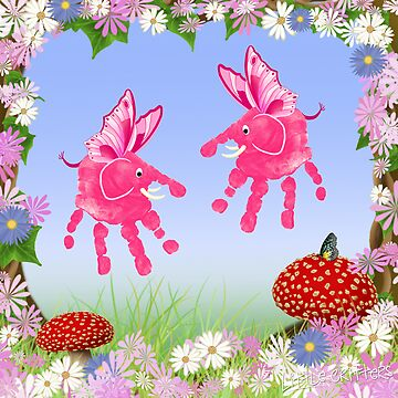 Fairy Elephant Critters by CarolH
