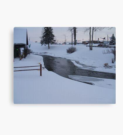 winter River 5 Canvas Print