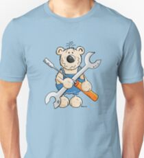 Funny Bear With Tools Unisex T-Shirt