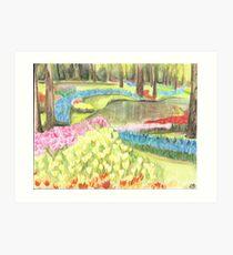 Keukenhof Garden Art Print
