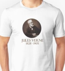 Great Writers - Jules Verne Unisex T-Shirt