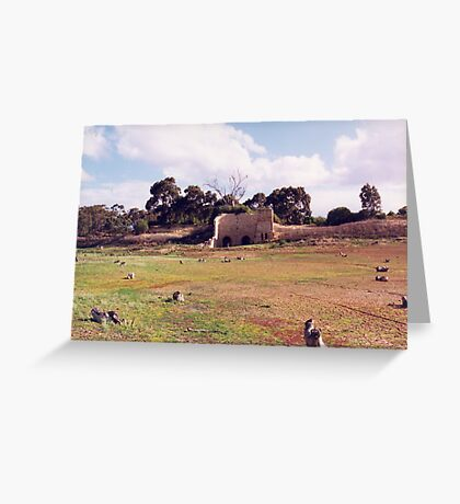 Lime Kilns/Lake Merrimu Greeting Card