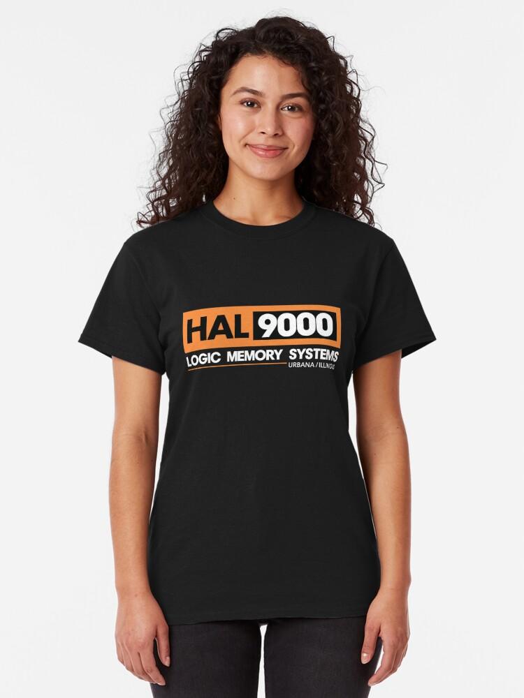 Alternative Ansicht von HAL 9000 - 2001 Eine Weltraum Odyssee Classic T-Shirt