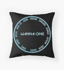 wanna one ot11 ofc Throw Pillow