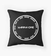 wanna ot 11 white Throw Pillow