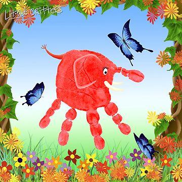 Spring Garden Critter by CarolH