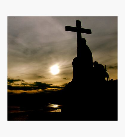 RISE OF THE CROSS Photographic Print
