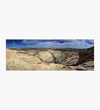 Highway 12 - Panorama Photographic Print