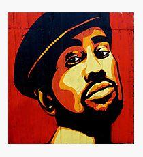 Cool Black Guy - Graffiti Style Photographic Print