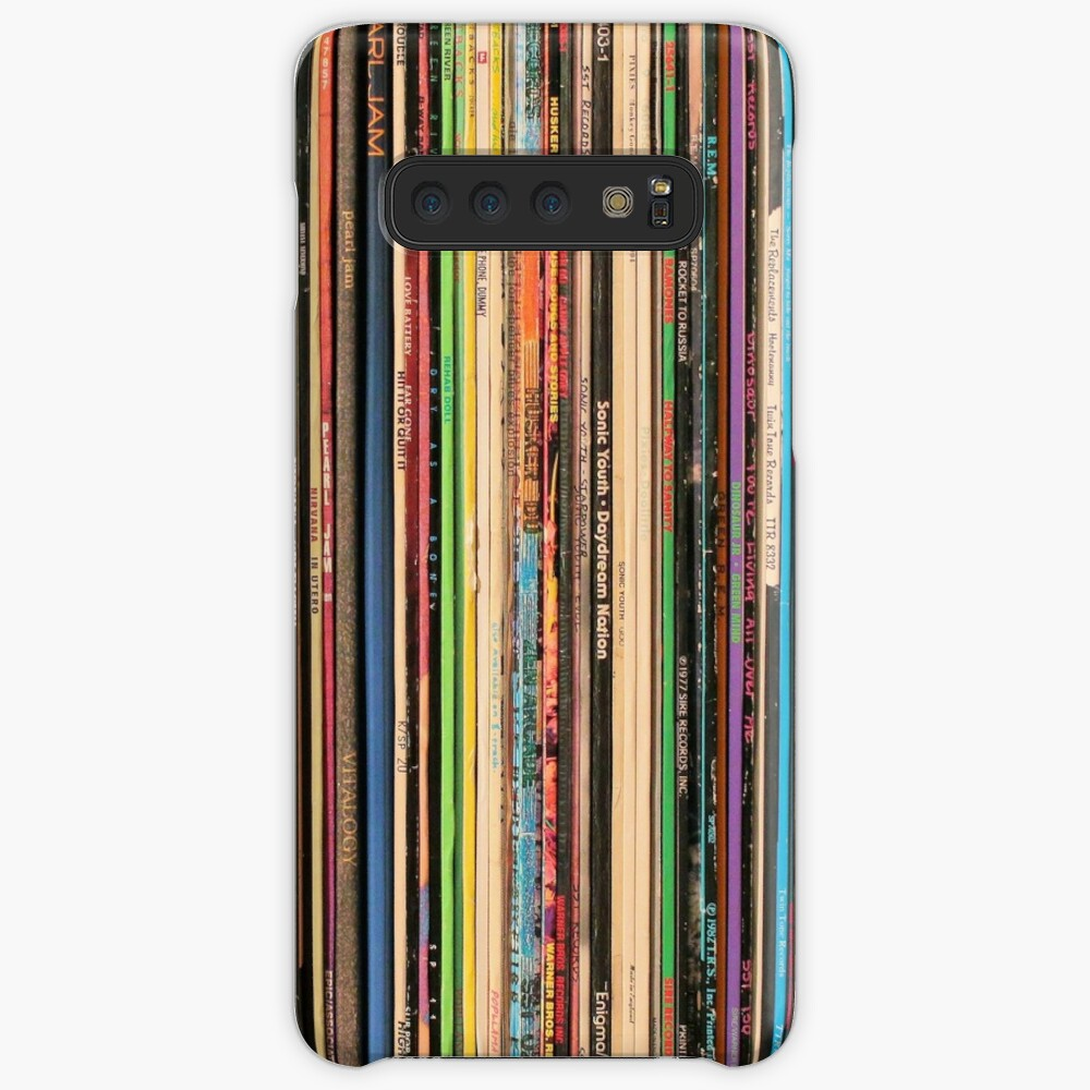 Classic Alternative Rock Records Case & Skin for Samsung Galaxy