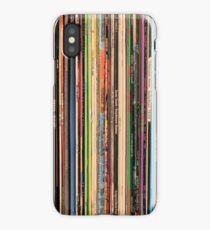 Classic Alternative Rock Records iPhone Case