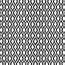 Black and white pattern 2 by toonjoosen