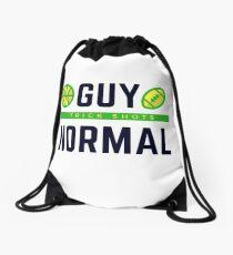 Guy Normal Merch Drawstring Bag