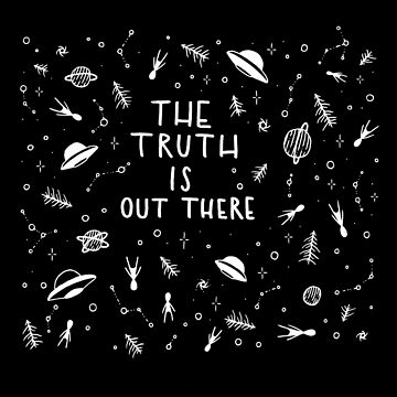 The truth is out there... by littleboegekaer