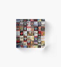 Stephen King Novels Acrylic Block