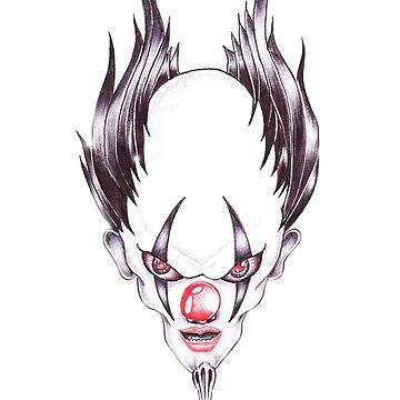Evil Clown by MsM1187