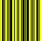 Yellow Barcode by Andrew Alcock