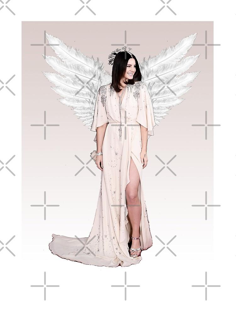 Lana Del Rey Engel bearbeiten von garciatania