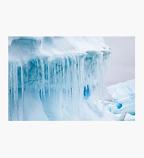 Antarctic Ice Photographic Print