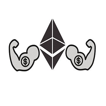 Ethereum ETH ether blockchain crypto currency by Brownpants