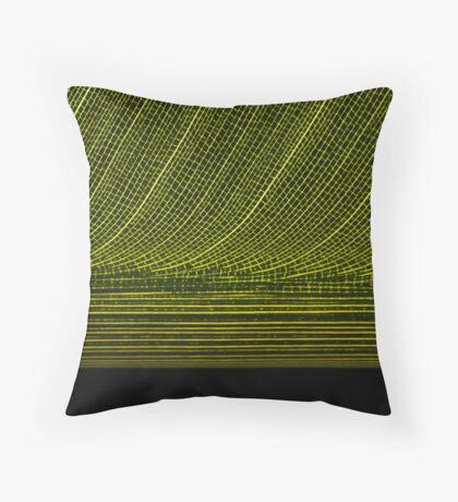 Structural Flow Throw Pillow