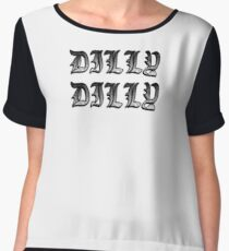 DILLY DILLY GEAR Chiffon Top