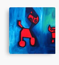 Cog and Dat (the original) Canvas Print