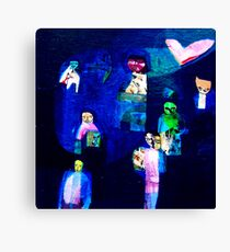 Currency of Love Canvas Print