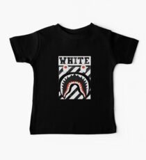 Off White A bathing ape Baby Tee