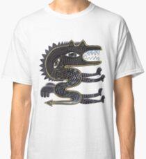 dekorativer surrealer Drache Classic T-Shirt