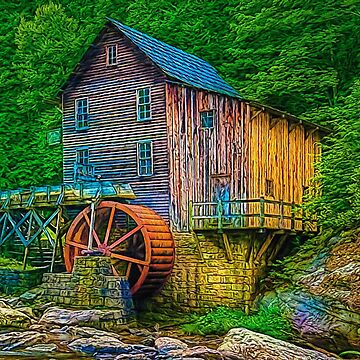 Old Water Mill by Skyviper