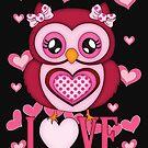 Cute Love Owl by LoneAngel