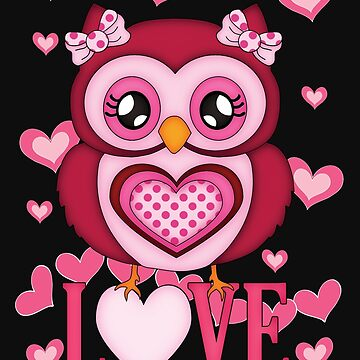 Cute Love Owl by LoneAngel