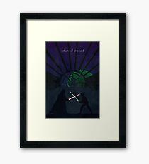 Return of the Jedi Framed Print