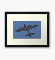B-17 Flying Fortress bomber aircraft [comics edition 4] Framed Print