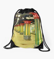 Subterranean Superstructure Drawstring Bag