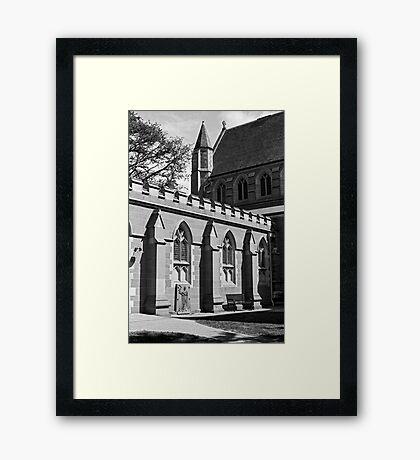 Saint David's Cathedral Hobart Framed Print
