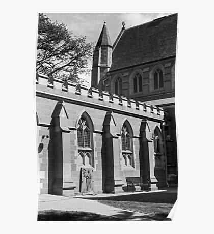 Saint David's Cathedral Hobart Poster