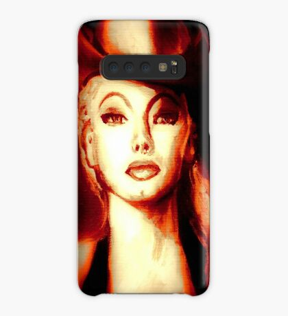 """THIS WAS BURLESQUE"" - LILI ST.CYR COWGIRL CROP SUN TONES Case/Skin for Samsung Galaxy"