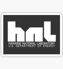 hnl HAWKINS NATIONAL LABORATORY Netflix Stranger Things Sticker