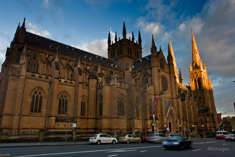 St. Mary's Cathedral Sydney NSW by MiImages
