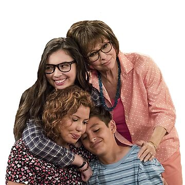One Day at a Time main family hug - the Alvarez's  by tziggles