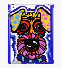 Rover Terrier Dog Airedale Wheaton Lakeland Kerry Schnauzer Fox Puppy Pet Animal iPad Case/Skin