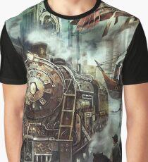 Steampunk World Graphic T-Shirt