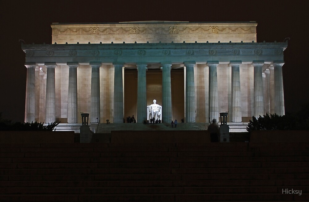 The Lincoln Memorial by Hicksy