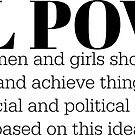 GIRL POWER DEFINITION - Style 5 by Maddison Green