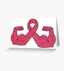 Fight Against Cancer Greeting Card