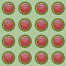 Watermelon pattern by Dewychan